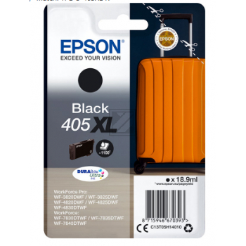 Epson Tintenpatrone schwarz HC (C13T05H14010, 405XL)