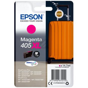 Epson Tintenpatrone magenta HC (C13T05H34010, 405XL)