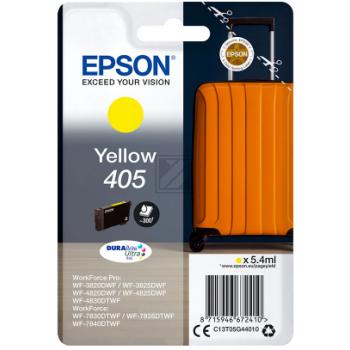 Epson Tintenpatrone gelb SC (C13T05G44010, 405)