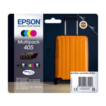 Epson Tintenpatrone gelb, cyan, schwarz, magenta SC (C13T05G64010, 405)