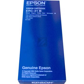 Epson Farbband Nylon schwarz (C43S015369, ERC-31B)