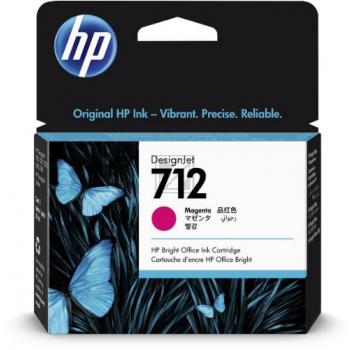 HP Tintenpatrone magenta (3ED68A, 712)