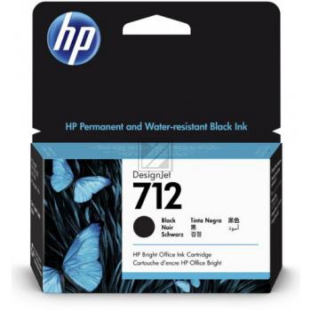 HP Tintenpatrone schwarz SC (3ED70A, 712)