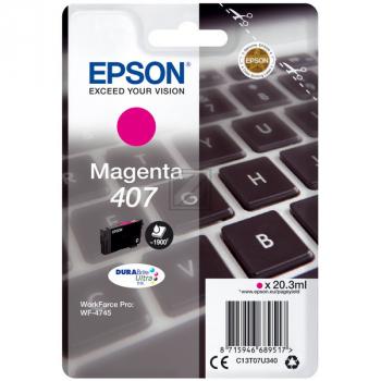 Epson Tintenpatrone magenta (C13T07U340)