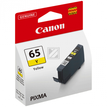Canon Tintenpatrone gelb (4218C001, CLI-65Y)