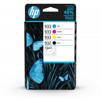 HP Tintenpatrone gelb, cyan, schwarz, magenta (6ZC71AE)