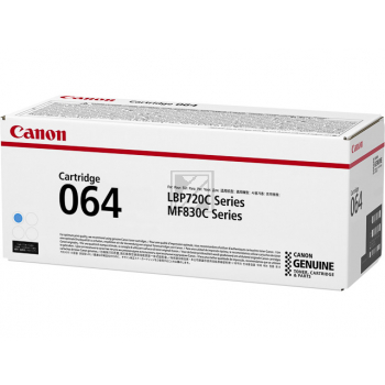 Canon Toner-Kartusche cyan SC (4935C001, 064)