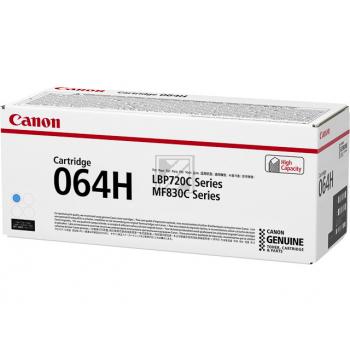 Canon Toner-Kartusche cyan HC (4936C001, 064H)