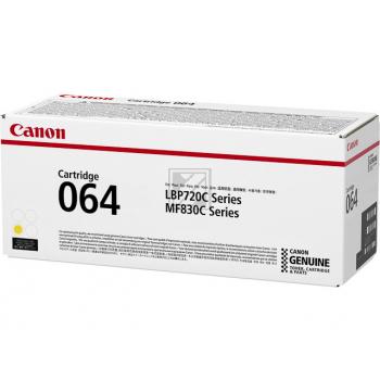 Canon Toner-Kartusche gelb SC (4931C001, 064)