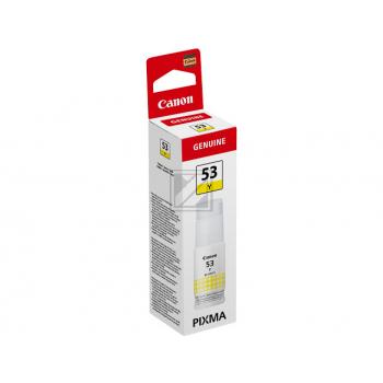 Canon Tintennachfüllfläschchen gelb (4690C001, GI-53Y)