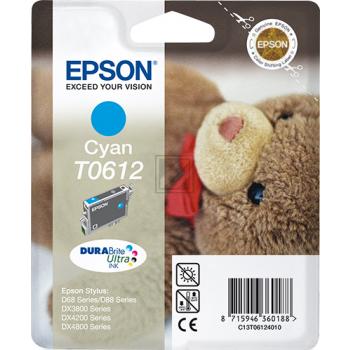 Epson Tintenpatrone cyan (C13T06124010, T0612)