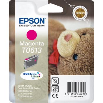 Epson Tintenpatrone magenta (C13T06134010, T0613)