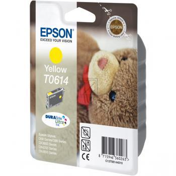 Epson Tintenpatrone gelb (C13T06144010, T0614)
