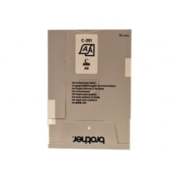 Brother Thermo-Transfer-Papier Durchschlag weiß (C251S)