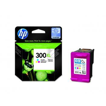 HP Tintendruckkopf cyan/gelb/magenta HC (CC644EE, 300XL)