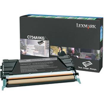Lexmark Toner-Kartusche Prebate schwarz (C734A1KG)
