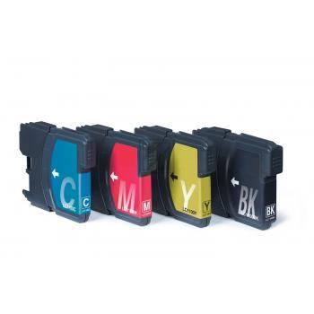Emstar Tintenpatrone gelb, cyan, schwarz, magenta (10BRDCP145MULTI, B53) ersetzt LC1100VALBPRF