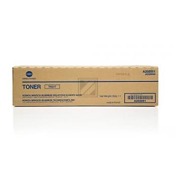 Konica Minolta Toner-Kit schwarz (A202031, TN-217)