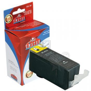 Emstar Tintenpatrone schwarz photo (10CAIP4850S, C101) ersetzt PGI-525PGBK