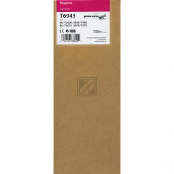Epson Tintenpatrone magenta HC plus (C13T694300, T6943)