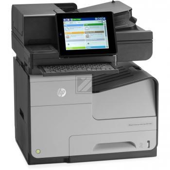 Hewlett Packard Officejet Managed Color Flow MFP X 585 ZM