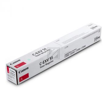 Canon Toner-Kit magenta (0486C002, C-EXV51LM)