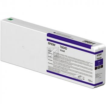 Epson Tintenpatrone lila (C13T804D00, T804D)