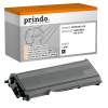 Prindo Toner-Kit (Basic) schwarz (PRTBTN2110 Basic) ersetzt TN-2110
