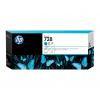HP Tintenpatrone cyan HC plus (F9K17A, 728)