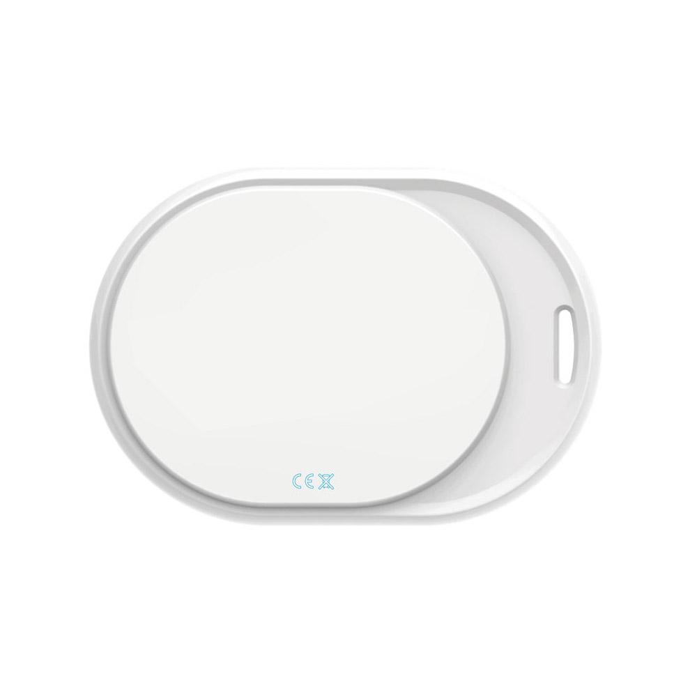 BluetoothFINDER mini - intelligenter Bluetooth-Anhänger mit Trackingfunktion in Weiß - zum schnellen Auffinden verlegter Gegenstände (zum Schutz Ihrer Schlüssel uvm.)
