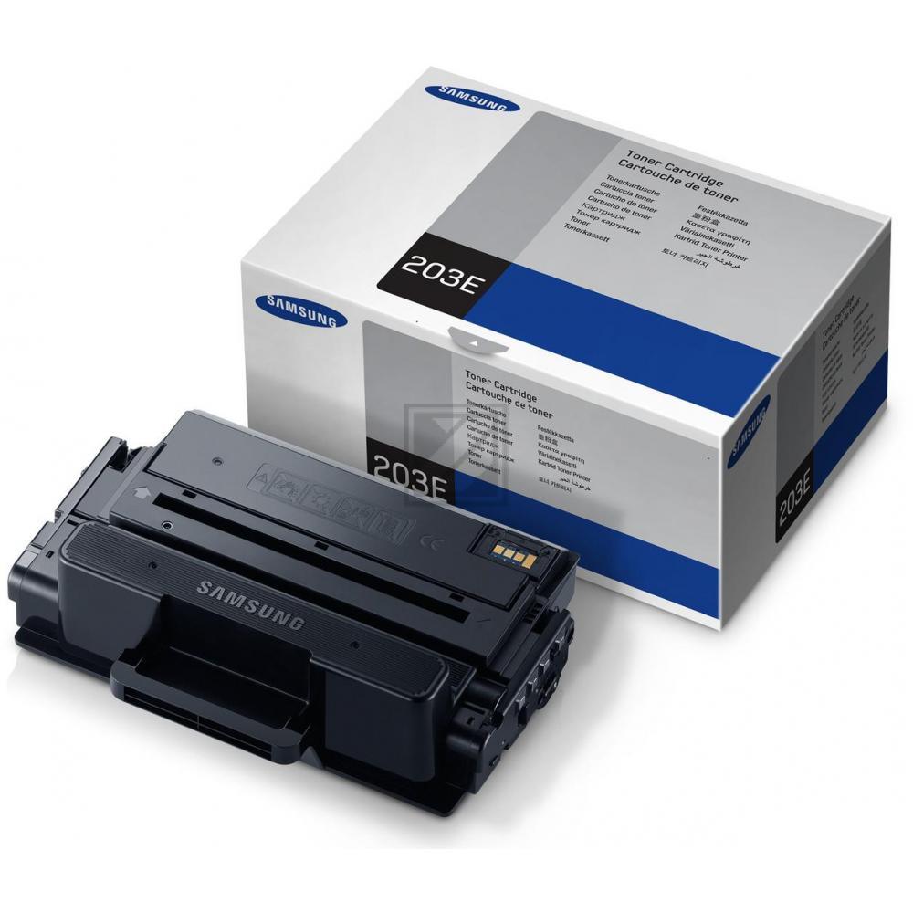 Samsung 203E | 10000 Seiten, Samsung Tonerkassette mit sehr hoher Reichweite, schwarz