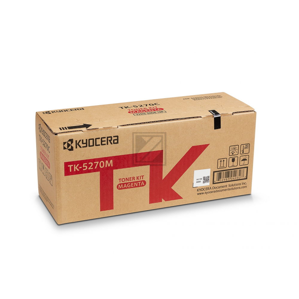 Kyocera Toner-Kit magenta (1T02TVBNL0, TK-5270M)