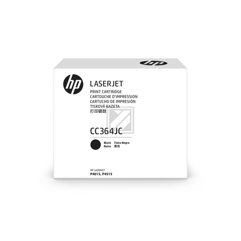 HP Toner-Kartusche Contract schwarz HC plus (CC364JC, 64J)