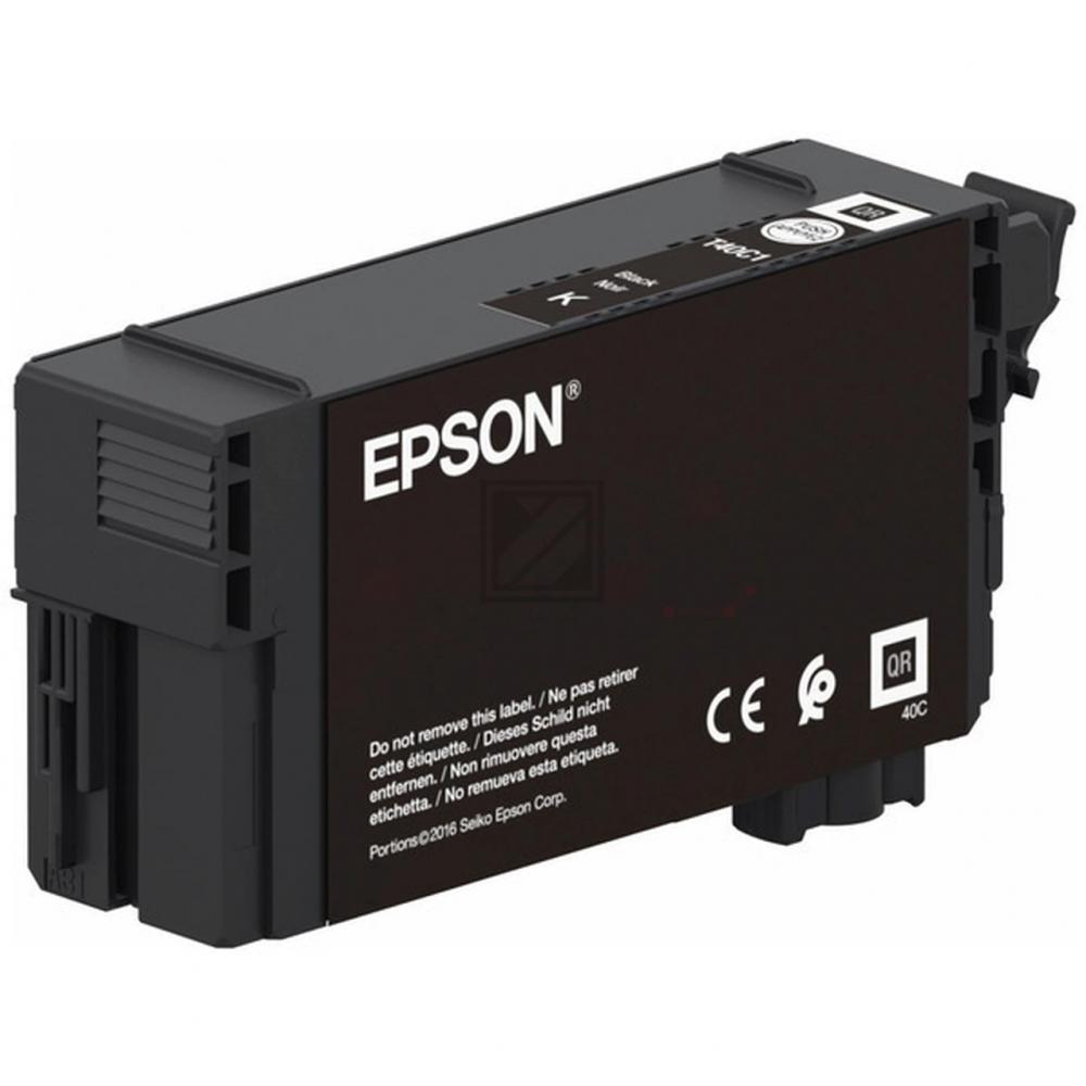 Epson Tintenpatrone schwarz (C13T40C140, T40C1)