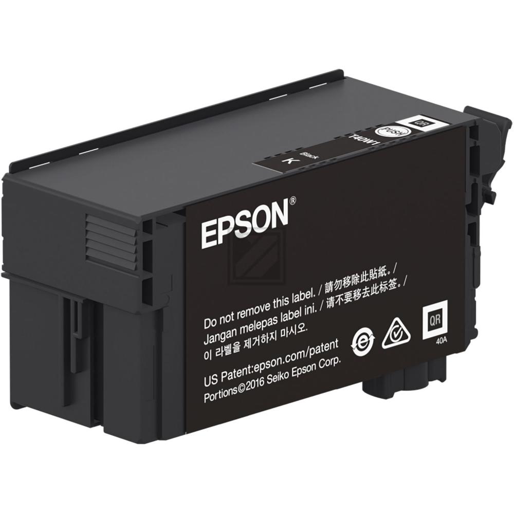 Epson Tintenpatrone schwarz HC (C13T40D140, T40D1)