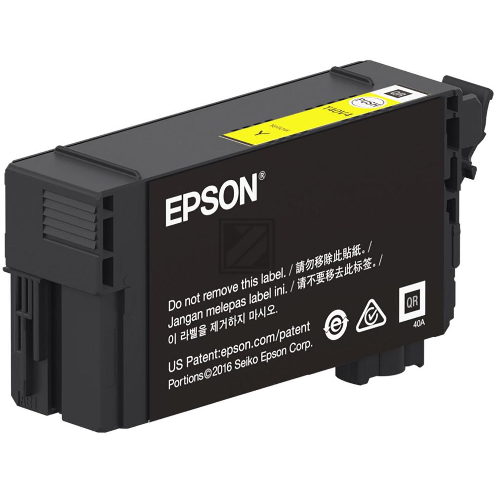 Epson Tintenpatrone gelb HC (C13T40D440, T40D4)