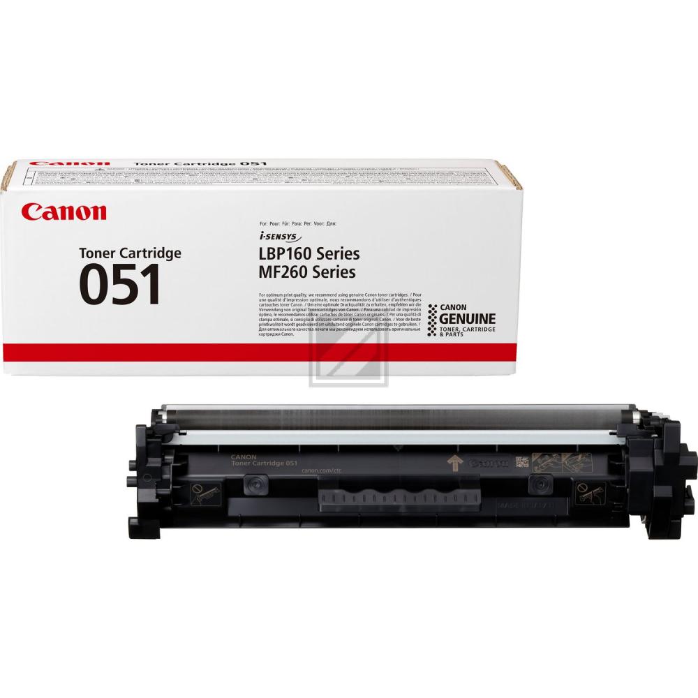 Canon Toner-Kartusche schwarz (2168C002, 051)