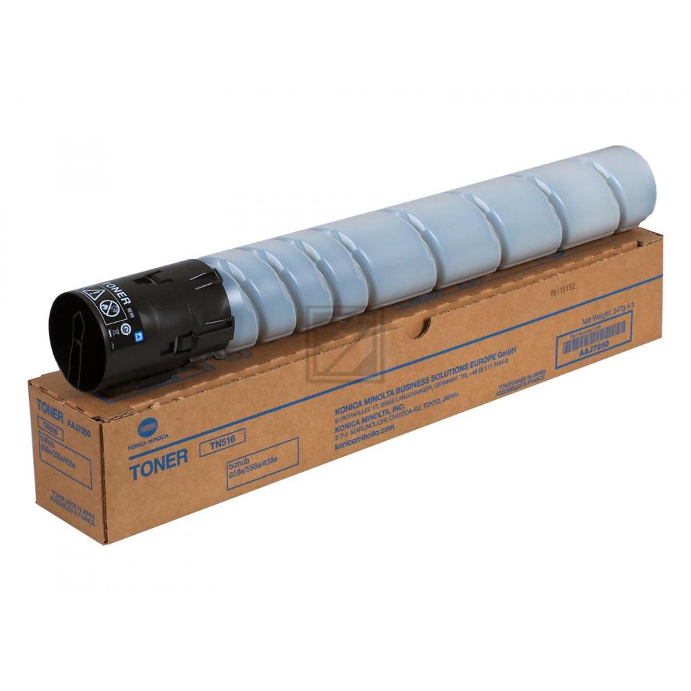 Konica Minolta Toner-Kit schwarz (AAJ7050, TN-516)