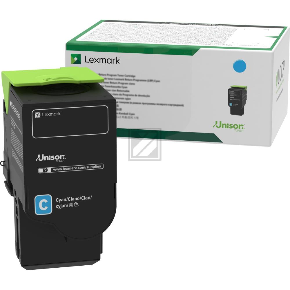 Lexmark Toner-Kartusche Return Program cyan (C2320C0)