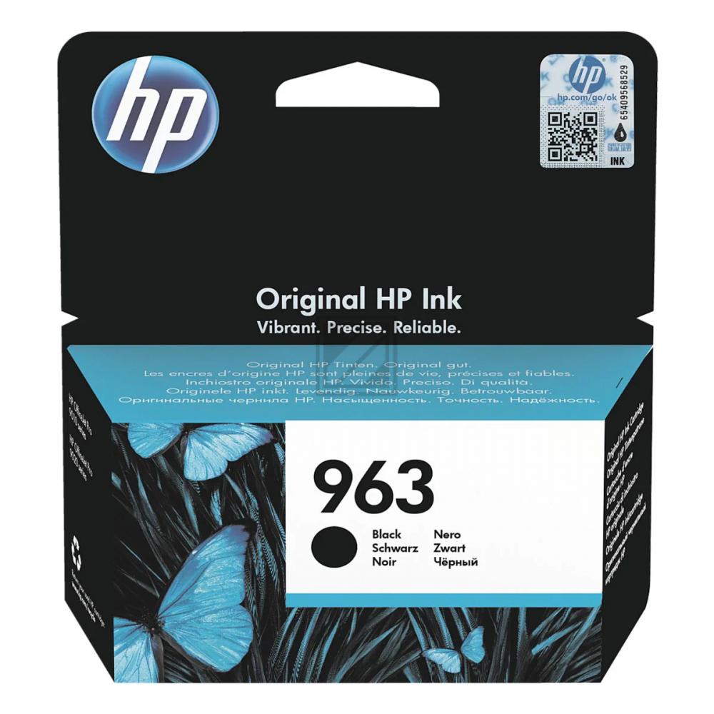 HP Ink Cart. 3JA26AE No. 963 für Office Jet Pro 90 / 3JA26AE // black