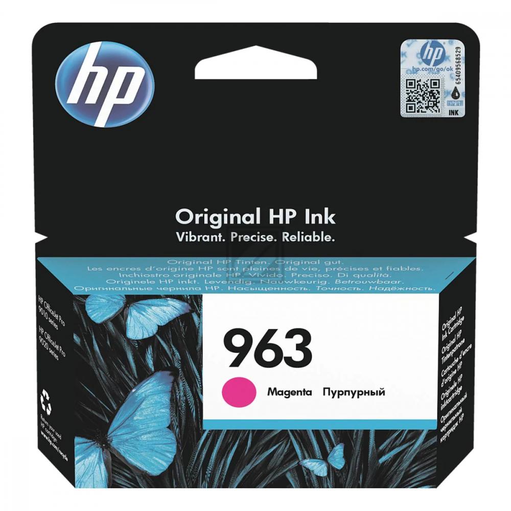 HP Ink Cart. 3JA24AE No. 963 für Office Jet Pro 90 / 3JA24AE // magenta