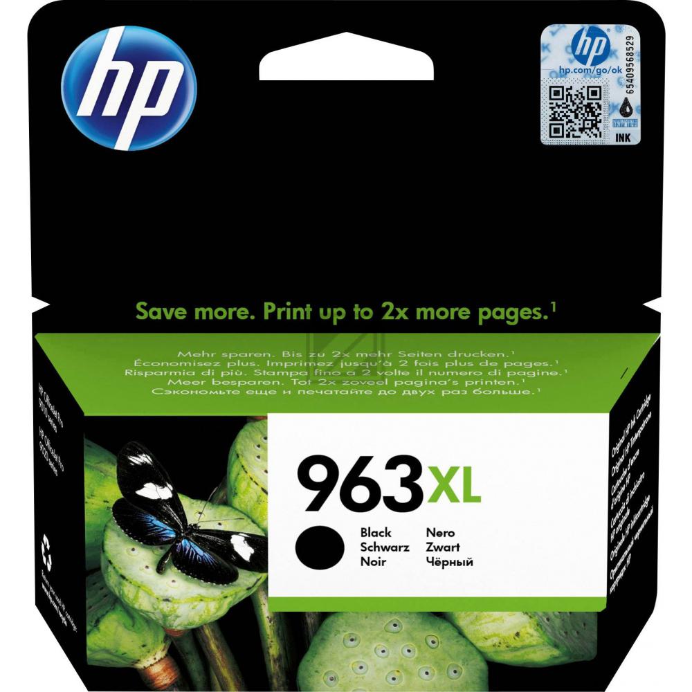 HP Ink Cart. 3JA30AE No. 963XL für Office Jet Pro  / 3JA30AE