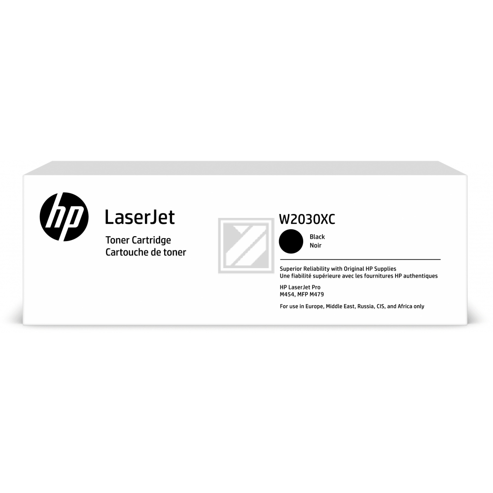 W2030XC HP LJ PROM454 CARTRIDGE BLACK HC / W2030XC