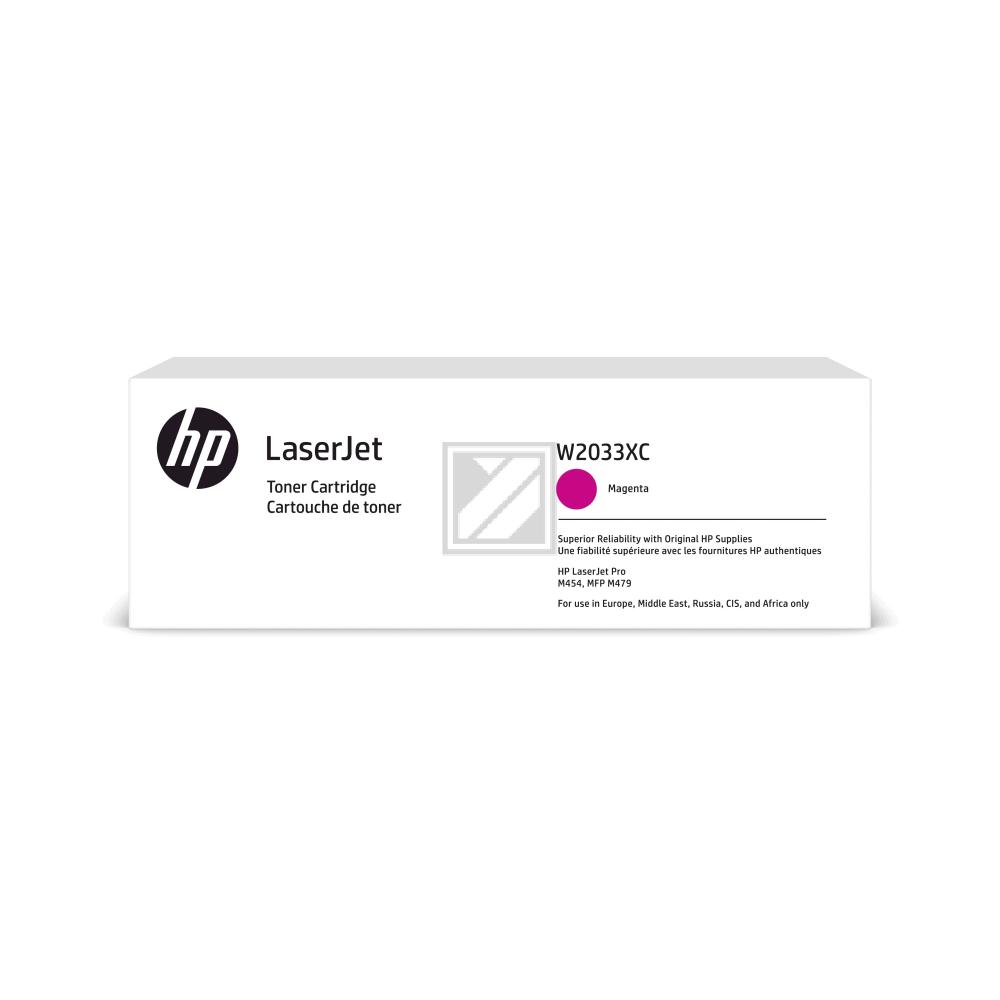 W2033XC HP LJ PROM454 CARTRIDGE MAG HC / W2033XC