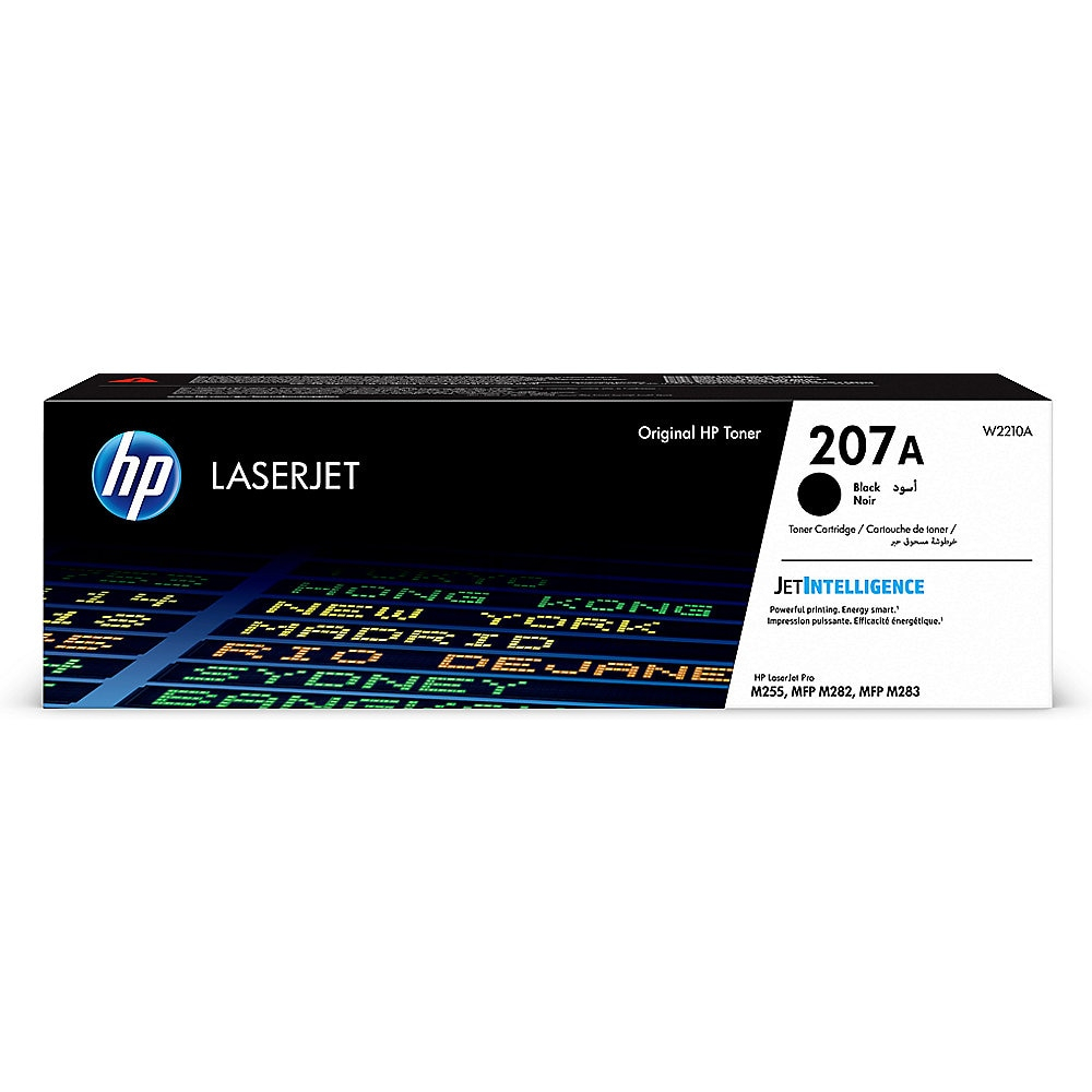 HP 207A (W2210A) schwarz Tonerkartusche / W2210A // 1.350 S.