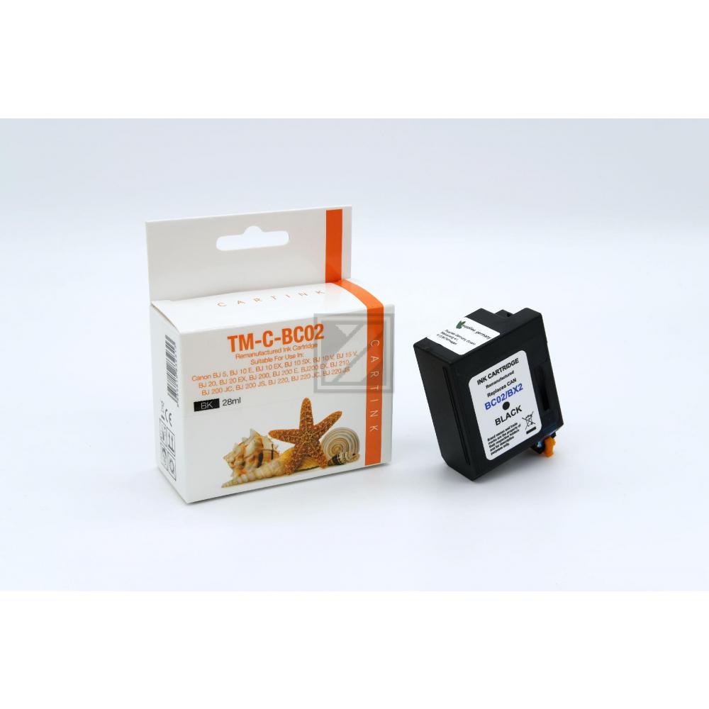 Refill Tinte Black für Canon / 0881A002 / 28ml
