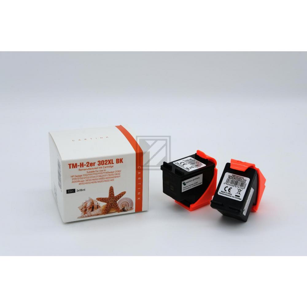 Refill Tinte Black für HP / F6U68AE / 2x18ml (EU)