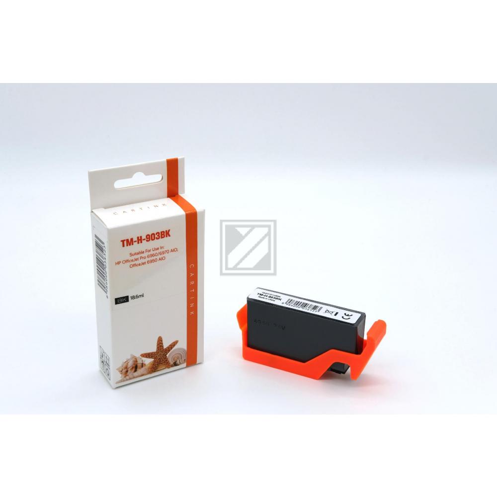 Refill Tinte Black für HP / T6L99AE / 18ml