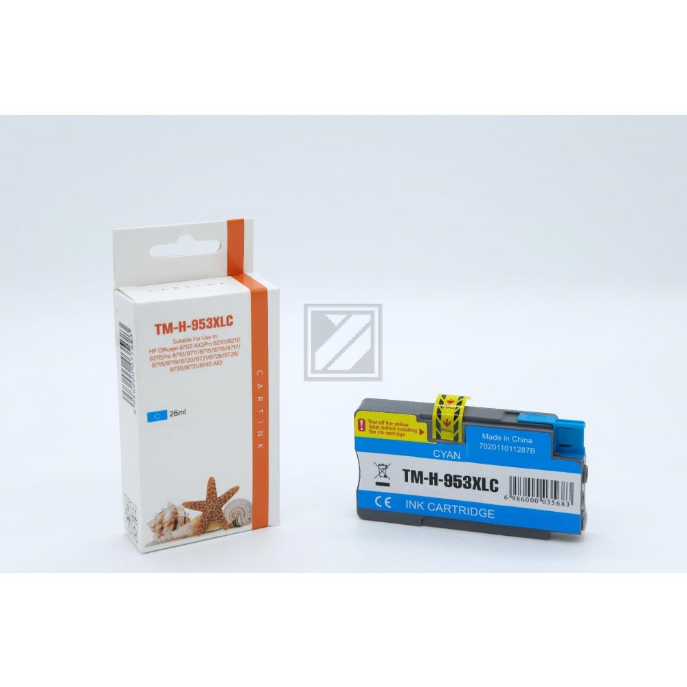 Refill Tinte Cyan für HP / F6U16AE / 26ml
