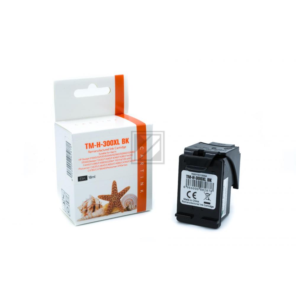 Refill Tinte Black für HP / CC641EE / 16ml